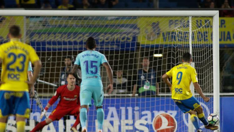 Barcelona kebobolan lewat gol penalti Copyright: laliga.es