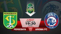 Indosport - Persebaya vs Arema FC