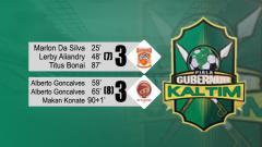 Indosport - Borneo vs Sriwijaya