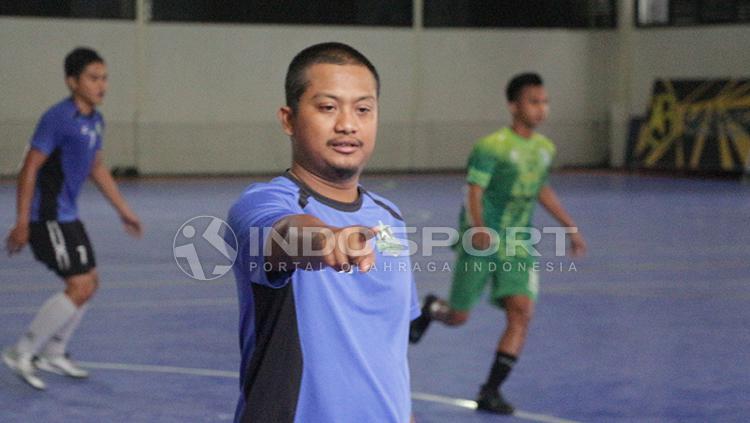 Eko M Purbo, sisten peltih Bintang Timur Surabaya. Copyright: Fitra Herdian/INDOSPORT