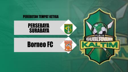 Perebutan Tempat Ketiga PGK II antara Persebaya Surabaya vs Borneo FC. - INDOSPORT