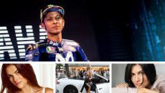 Indosport - Perempuan-perempuan yang pernah dekat dengan Rossi.