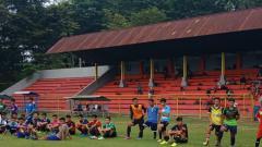 Indosport - Seleksi Pemain Persiharjo.