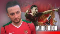 Indosport - Ilustrasi Marc Klok berseragam Tim Nasional Indonesia.