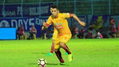Indosport - Penyerang Sriwijaya FC Beto Goncalves.