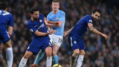 Indosport - Man City vs Chelsea.