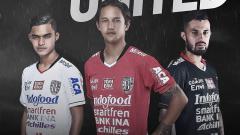 Indosport - Jersey terbaru Bali United