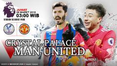 Indosport - Prediksi Crystal Palace vs Manchester United