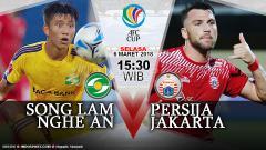 Indosport - Prediksi Song Lam Nghe An vs Persija Jakarta