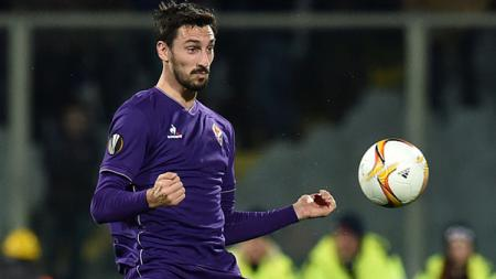 Almarhum kapten Fiorentina, Davide Astori. - INDOSPORT