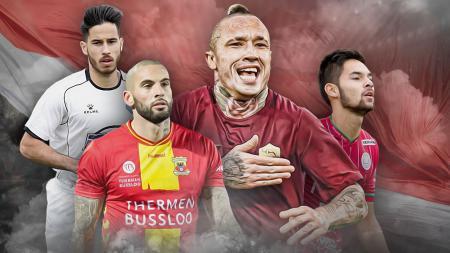 4 Pemain Liga Top Eropa yang Ingin Bela Timnas Indonesia. - INDOSPORT
