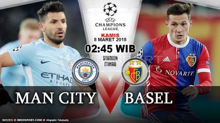 Prediksi Manchester City vs Basel - INDOSPORT