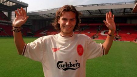 Legenda Liverpool Patrik Berger. - INDOSPORT