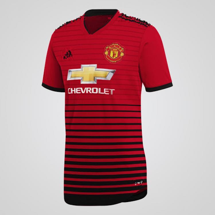 Jersey Manchester United 18/19 Copyright: INTERNET