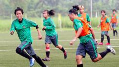 Indosport - Seleksi Timnas Wanita Indonesia