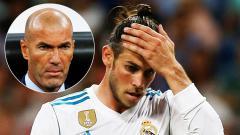 Indosport - Zinedine    Zidane dan Gareth Bale