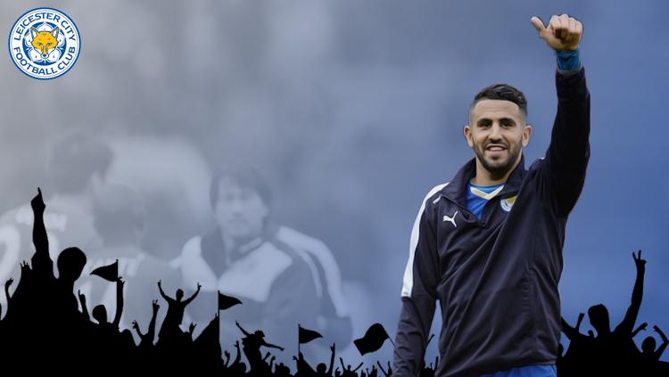 Riyad Mahrez resmi pensiun sebagai pemain profesional. Copyright: INDOSPORT