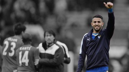 Riyad Mahrez resmi pensiun sebagai pemain profesional. - INDOSPORT