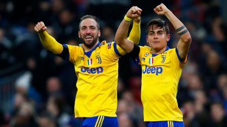 Cristiano Ronaldo ternyata kesulitan memilih partner duet di Juventus, antara Paulo Dybala dan Gonzalo Higuain. - INDOSPORT