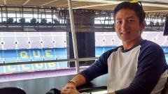 Indosport - Pembalap T2 Motorsports, Rio Haryanto, menunjukkan kepiawaiannya dalam olahraga menembak.