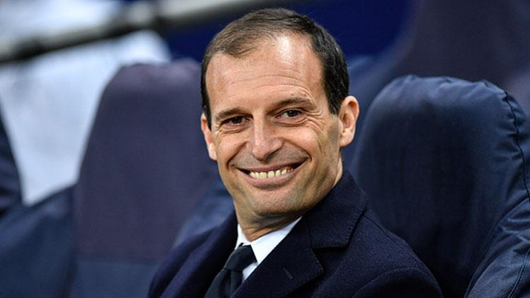 Massimiliano Allegri. Copyright: Getty Images