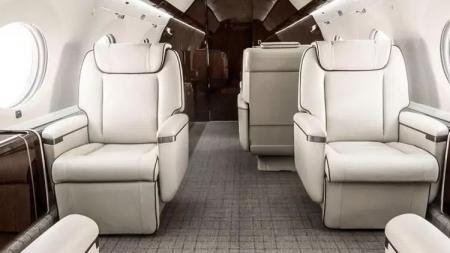 Pesawat Jet milik Cristiano Ronaldo. - INDOSPORT