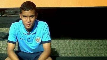 Eks bek Timnas Indonesia U-16 dan kapten Milan Junior, Eriyanto. - INDOSPORT