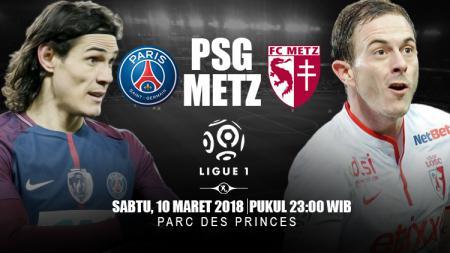 Prediksi PSG vs Metz. - INDOSPORT