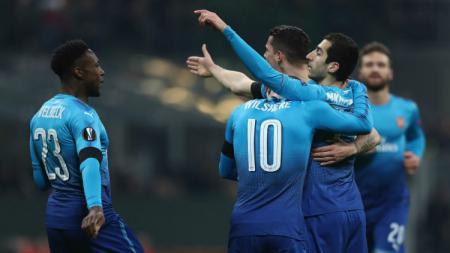 Akan berlaga di partai final Europa 2018/19 di Baku, Azerbaijan, Arsenal harus berurusan dengan minat penonton yang begitu minim. - INDOSPORT