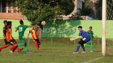 Jalannya laga antaran PSMS Medan vs Gumarang FC. - INDOSPORT