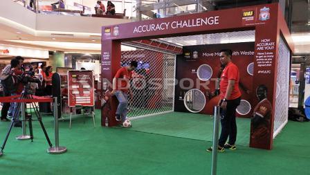 Salah satu permainan di acara LFC World Jakarta.