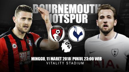 Prediksi Bournemouth vs Tottenham Hotspur. - INDOSPORT