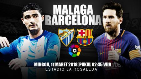 Prediksi Malaga vs Barcelona. - INDOSPORT