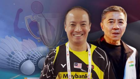 Mulyo Handoyo dan Hendrawan. - INDOSPORT