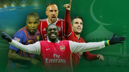 Pesepakbola top Eropa yang akhirnya memilih memeluk Agama Islam. - INDOSPORT