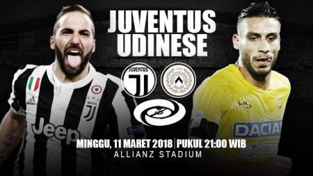 Prediksi Juventus vs Udinese. - INDOSPORT