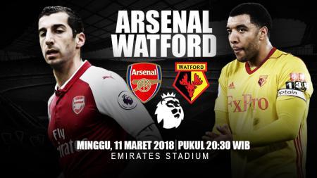 Prediksi Arsenal vs Watford. - INDOSPORT