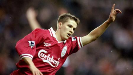 Michael Owen ketika masih membela Liverpool. - INDOSPORT