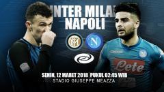 Indosport - Prediksi Inter Milan vs Napoli.
