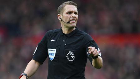 Wasit laga Manchester United vs Liverpool, Craig Powson. - INDOSPORT