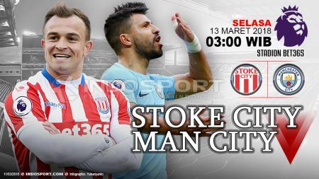 Prediksi Stoke City vs Manchester City - INDOSPORT