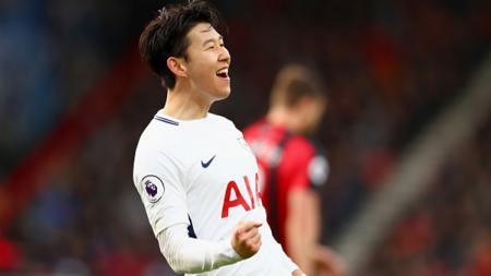 Son Heung-Min, gelandang serang Tottenham Hotspur yang terus meningkatkan performanya.