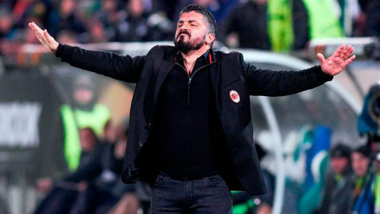 Gattuso, pelatih AC Milan Copyright: Internet