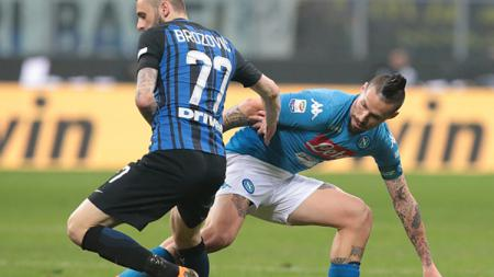 Inter Milan vs Napoli. - INDOSPORT