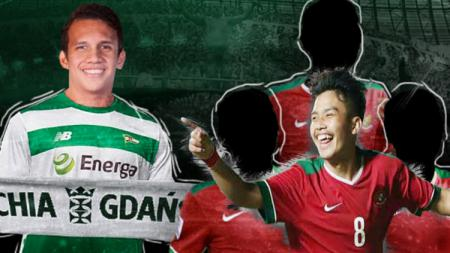 Tiga pemain Indonesia penerus Egy Maulana Vikri, salah satunya, witan sulaiman. - INDOSPORT