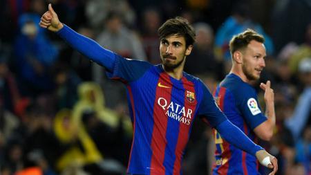 Andre Gomes, pemain Barcelona yang resmi direkrut Everton. - INDOSPORT
