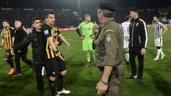 Indosport - PAOK vs AEK Athens.