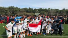 Indosport - Timnas Indonesia U-16 jadi juara di turnamen Jenesys 2018.