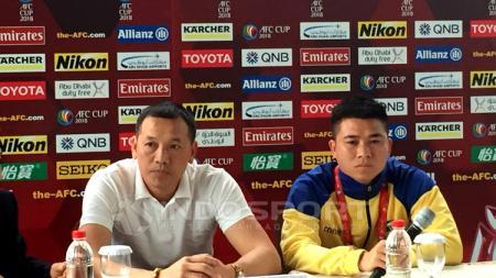 Nguyen Duc Thang (kiri). - INDOSPORT