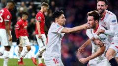 Indosport - Man United vs Sevilla.